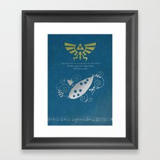 The Legend of Zelda - Wisdom Framed Art Print