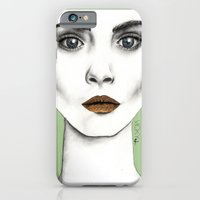 iPhone & iPod Case featuring Cara by Vicky Ink.