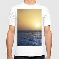 Tenerife Mens Fitted Tee White SMALL