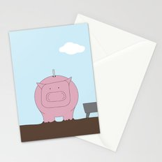Moneybox Stationery Cards