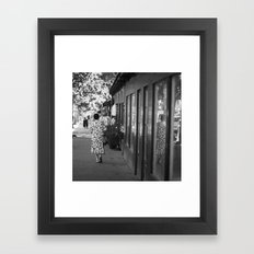 Parisienne Framed Art Print