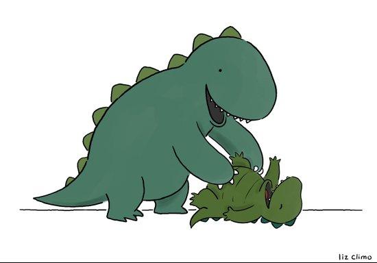 Tickle Monster  Art Print