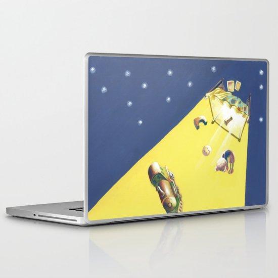 POEM OF BED Laptop & iPad Skin