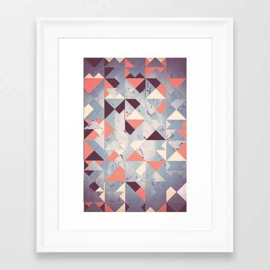 Abstract Sky Framed Art Print