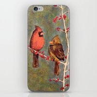 Birdies iPhone & iPod Skin