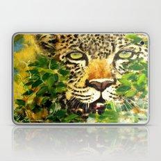 Wildlife Painting Series 3 - Leopard in preying pose Laptop & iPad Skin
