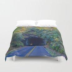 Dream tunnel  Duvet Cover