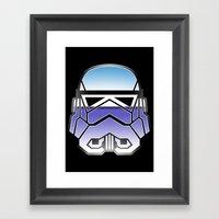 Trooper in disguise Framed Art Print