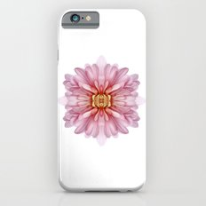 Baby Pink Chrysanthemum Bomb Slim Case iPhone 6s