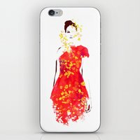 Flicker in the storm iPhone & iPod Skin
