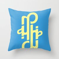 Type Foundry - Helvetica… Throw Pillow