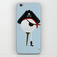 Pirate Of The Open Tees iPhone & iPod Skin