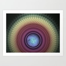 Imperceivable Worlds Art Print