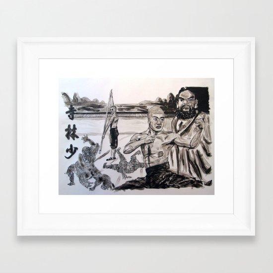 Shaolin Framed Art Print