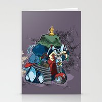 Trike Rider Stationery Cards