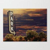 PARK Canvas Print