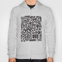 ABSTRACT 4 - BLACK & WHI… Hoody