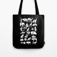 Animal A-Z Tote Bag