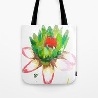 Alice's Water Lily Tote Bag