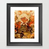 The Terror On Tashirojim… Framed Art Print