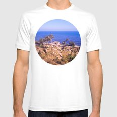 Sunken City  SMALL White Mens Fitted Tee