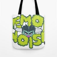 Demon Noise Tote Bag