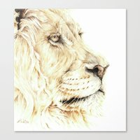 The Lion Canvas Print
