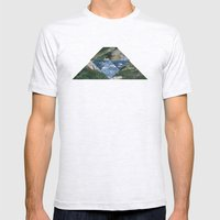 RIVER HILL Mens Fitted Tee Ash Grey SMALL