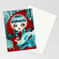 Red of the Woods Stationery Cards