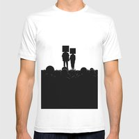 I have you. You have me. - US AND THEM Mens Fitted Tee White SMALL