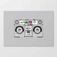 1 kHz #2 Canvas Print