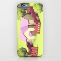 iPhone Cases featuring Home in Onett by Timothy J. Reynolds