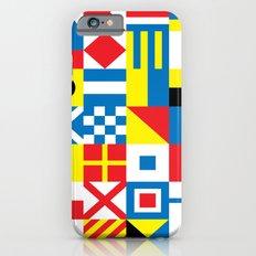 International Alphabetical Marine Signal Flags Slim Case iPhone 6s