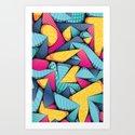 SUPER-MIA-POP • Portrait Detail Art Print