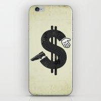 Costs an Arm & a Leg! iPhone & iPod Skin