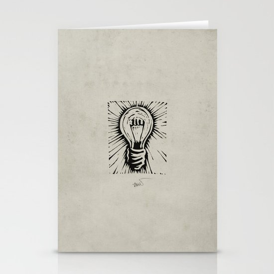 The Light Stationery Card