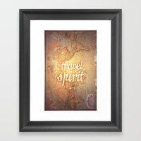 Travel Spirit #4 Framed Art Print