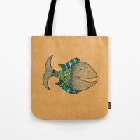 happy fish #4 Tote Bag