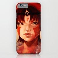 iPhone & iPod Case featuring Princess Mononoke  by Peach Momoko