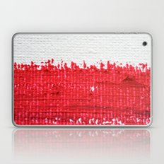 Red on Canvas Laptop & iPad Skin