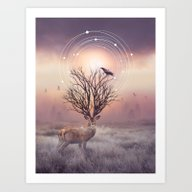 Art Print featuring In The Stillness by Soaring Anchor Desig…
