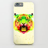 iPhone & iPod Case featuring Tiger by Fimbis