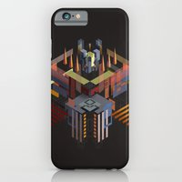 iPhone & iPod Case featuring Isometric Samurai from the Fourth Dimension by John Magnet Bell
