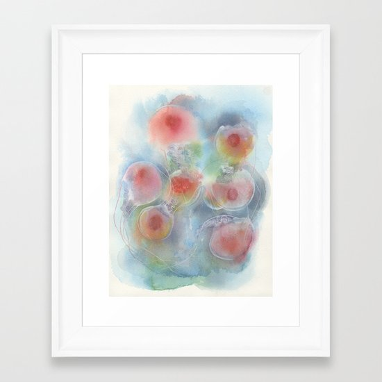 Floating No.1 Framed Art Print