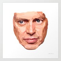 Shaping the Stars: Steve Buscemi Art Print