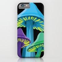 Alice's Shrooms - Dark iPhone 6 Slim Case