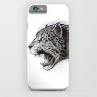 iPhone Cases featuring Jaguar Charcoal by Puddingshades