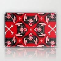 Vampire Bat Face Geometr… Laptop & iPad Skin