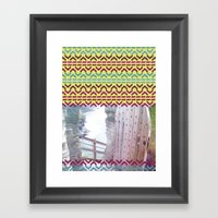 AZTEC 'Door Into Summer'… Framed Art Print