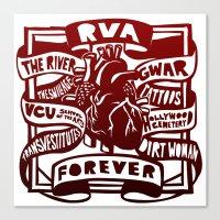 RVA Forever Canvas Print